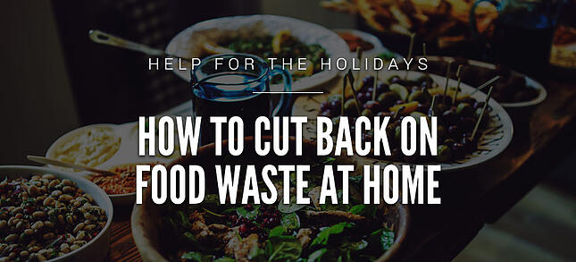 How to Cut Back on Food Waste at Home